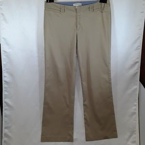 BANANA REPUBLIC SIZE 8 KHAKI  PANTS
